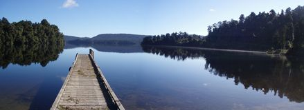 Jeziorny Mapourika zdjęcia stock