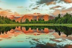 jeziorny matheson Zdjęcie Stock
