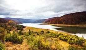 jeziorny mavrovo zdjęcie royalty free