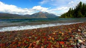 Jeziorny McDonald lodowa park narodowy zbiory wideo