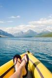 Jeziorny McDonald lodowa park narodowy Obrazy Royalty Free