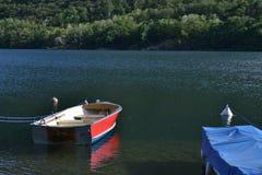 Jeziorny Mergozzo (Włochy) obraz stock
