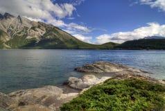 jeziorny minnewanka Zdjęcia Stock