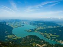 jeziorny mondsee Zdjęcie Stock