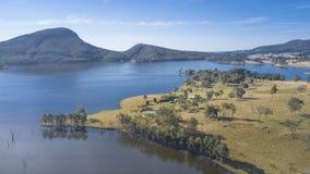 Jeziorny Moogerah w Queensland Obraz Royalty Free