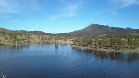 Jeziorny Moogerah w Queensland podczas dnia zdjęcie wideo