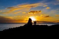 Jeziorny Nam w półmroku Obraz Royalty Free