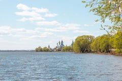 Jeziorny Nero w Yaroslavl regionie fotografia stock