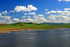 jeziorny niebo Zdjęcia Stock