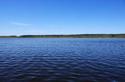 jeziorny niebo Zdjęcie Royalty Free