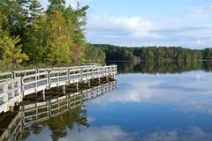 jeziorny odbicie Zdjęcie Stock