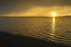 Jeziorny Ogii Nuur Zdjęcie Stock