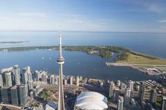 Jeziorny Ontario od Toronto Obraz Royalty Free
