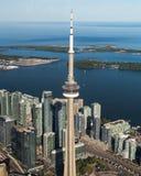 Jeziorny Ontario od Toronto Fotografia Royalty Free