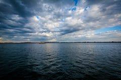 Jeziorny Ontario, widzieć przy Harbourfront w Toronto, Ontario Zdjęcie Royalty Free