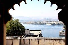 Jeziorny Pichhola, Udaipur, India zdjęcia stock