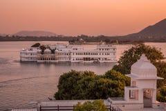 Jeziorny Pichola Rajasthan obrazy stock