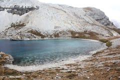 jeziorny plateau Sichuan Tibet Zdjęcia Royalty Free