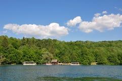 Jeziorny Plitvice obraz royalty free