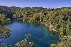 Jeziorny Plitvice park narodowy Obraz Stock