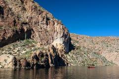 Jeziorny połów Obraz Royalty Free