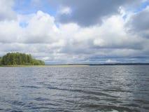 Jeziorny pobliski Moskwa Zdjęcie Royalty Free