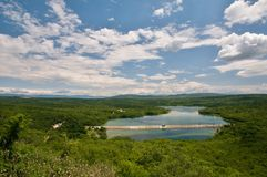 Jeziorny Ponikve Zdjęcia Royalty Free
