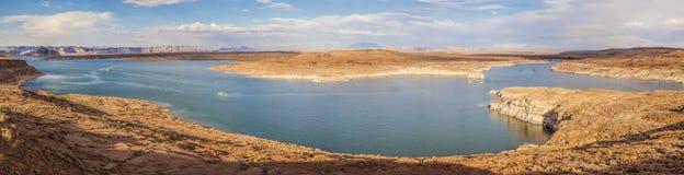 Jeziorny Powell, strona, Arizona zdjęcia royalty free