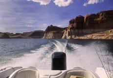 Jeziorny Powell, Utah fotografia stock