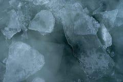Jeziorny przełożonego lód zdjęcie royalty free