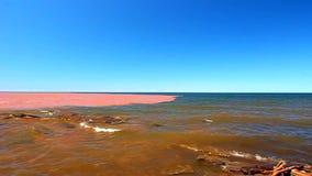 Jeziorny przełożony Po ulewy zbiory