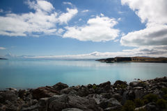 Jeziorny Pukaki zdjęcia royalty free