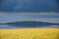 jeziorny Qinghai Obrazy Royalty Free
