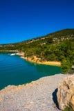 Jeziorny Sainte-Croix Zdjęcie Stock