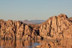 jeziorny sceniczny Watson Zdjęcie Royalty Free