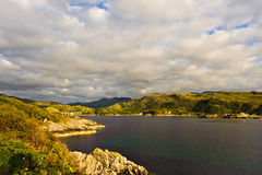 jeziorny Scotland zdjęcie royalty free