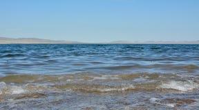Jeziorny Shira w republice Khakassia zdjęcia stock