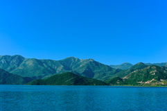 Jeziorny Skadar park narodowy, Montenegro zdjęcia stock