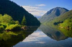 Jeziorny soból w górach Khamar-Daban Obraz Stock