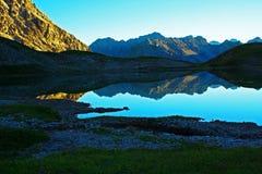 jeziorny steinsee Tyrol zdjęcie royalty free