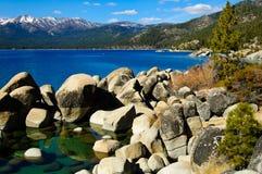 jeziorny tahoe Fotografia Royalty Free