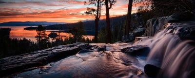 Jeziorny Tahoe Zdjęcia Royalty Free