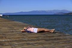 Jeziorny Tahoe Obraz Royalty Free