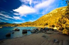 Jeziorny Tahoe, Kalifornia, usa obrazy stock