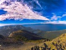 Jeziorny Tahoe od Mt Tallac Zdjęcie Stock