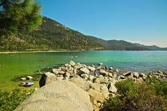 Jeziorny Tahoe wakacje Zdjęcie Royalty Free