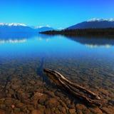 Jeziorny Te Anau zdjęcie stock