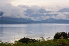 Jeziorny Te Anau, Te Anau - Obrazy Stock