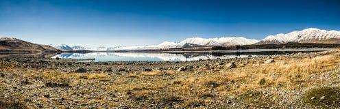 Jeziorny Tekapo Zdjęcie Royalty Free