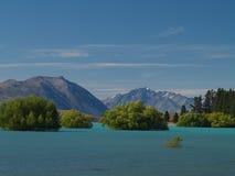 jeziorny tekapo Obrazy Royalty Free
